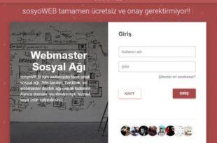 sosyoWEB.com Webmaster Sosyal Yardımlaşma Ağı Açıldı