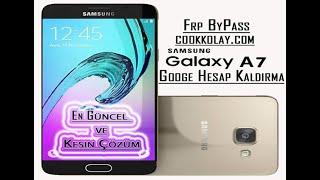 Samsung A7 2016 Google Hesap Kaldırma – A7 2016 frp reset