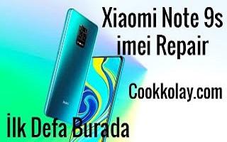 Xiaomi Redmi Note 9s imei repair işlemi Box olmadan – En detaylı anlatım ilk ve tek sadece burada – note 9s imei tamir